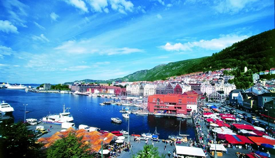 Norway Bergen_Harbor